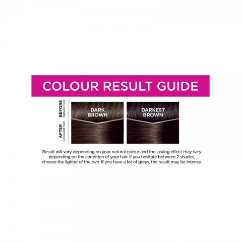 LOreal Casting Creme Gloss Conditioning Hair Colour - 300 Darkest Brown