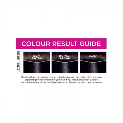 LOreal Casting Creme Gloss Conditioning Hair Colour - 210 Blue Black