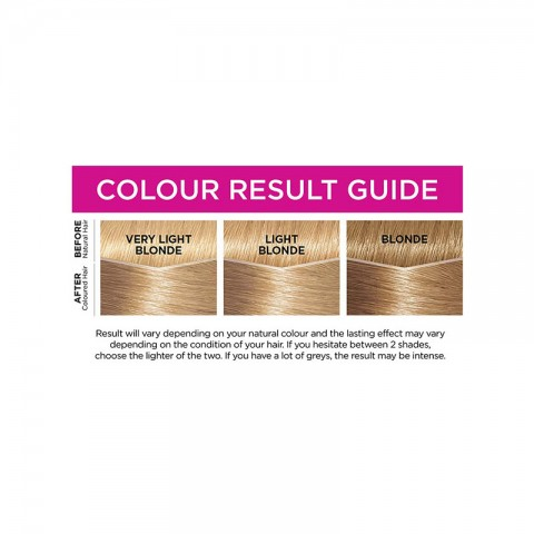 LOreal Casting Creme Gloss Conditioning Hair Colour - 910 Iced Blonde