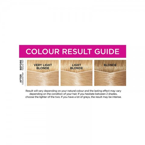 LOreal Casting Creme Gloss Conditioning Hair Colour - 1021 Light Pearl Blonde