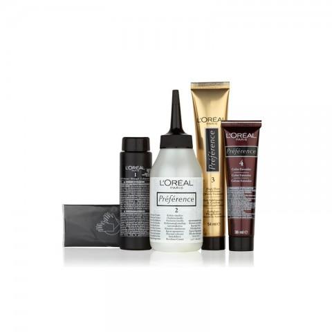 L'oreal Infinia Preference New Colour Extender Permanent Hair Colour - 3 Brasilia (Dark Brown)