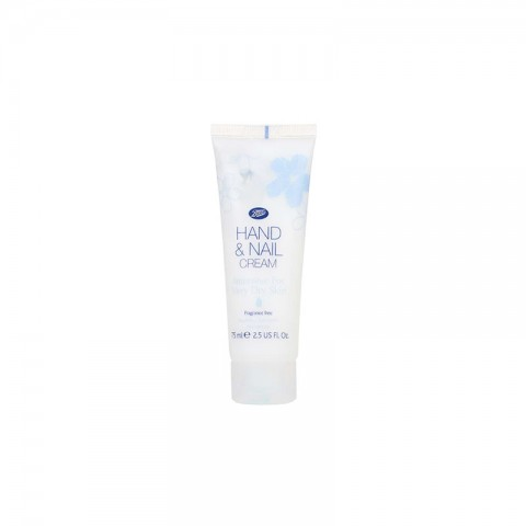 Boots Fragrance Free Hand & Nail Cream Intensive For Very Dry Skin 75ml