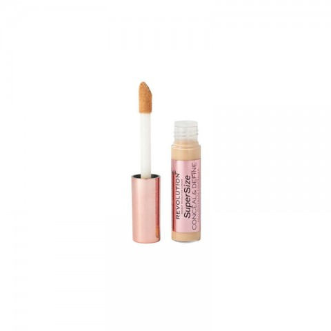 Makeup Revolution Supersize Conceal & Define Full Coverage Concealer 13g - C8.5
