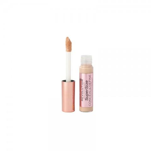 Makeup Revolution Supersize Conceal & Define Full Coverage Concealer 13g - C3