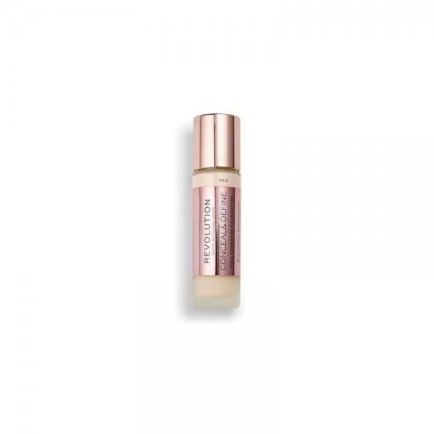 Makeup Revolution Conceal & Define Foundation 23ml - F6.5