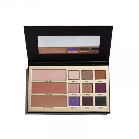 Makeup Revolution Maxineczka Beauty Legacy 9 Highly Pigmented Eyeshadow, Contour, Blush And Highlight Palette