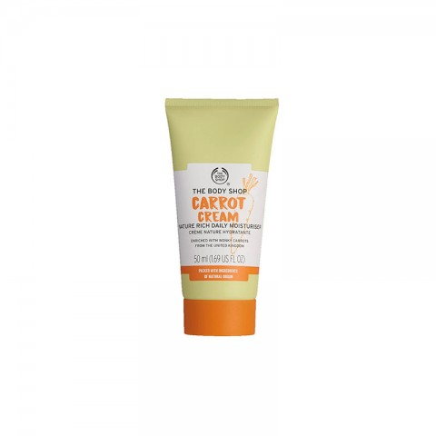 The Body Shop Carrot Cream Nature Rich Daily Moisturiser 50ml