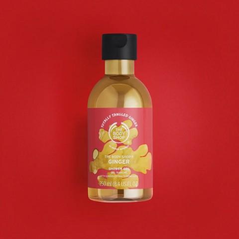 The Body Shop Totally Tangled Ginger Shower Gel 250ml