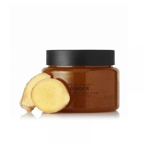 The Body Shop Totally Tangled Ginger Exfoliating Gel Body Scrub 250ml