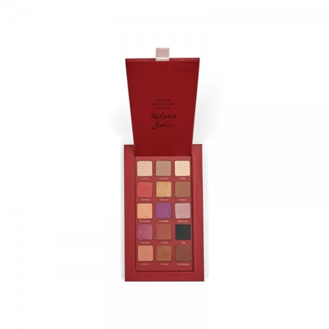Makeup Revolution Pro Nath Natalia Riwice Limited Edition Eyeshadow Palette (4134)