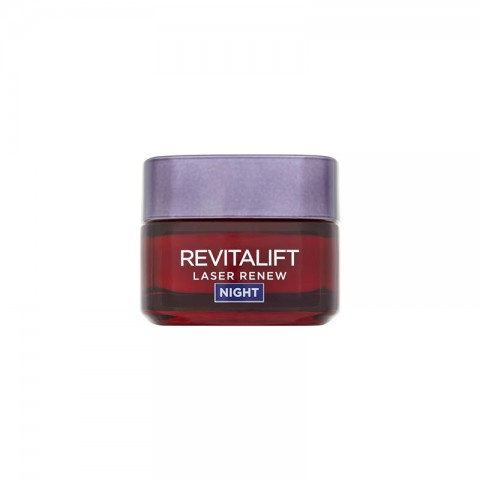 L'oreal Revitalift Laser Renew Anti Ageing Night Mask Cream 50ml - Age 40+