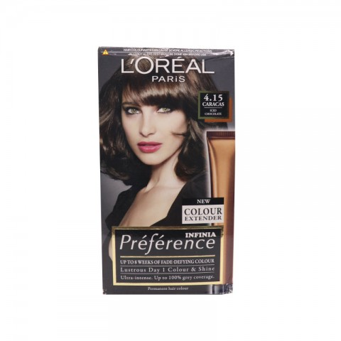 L'oreal Paris Recital Preference Hair Colour - 4.15 Caracas