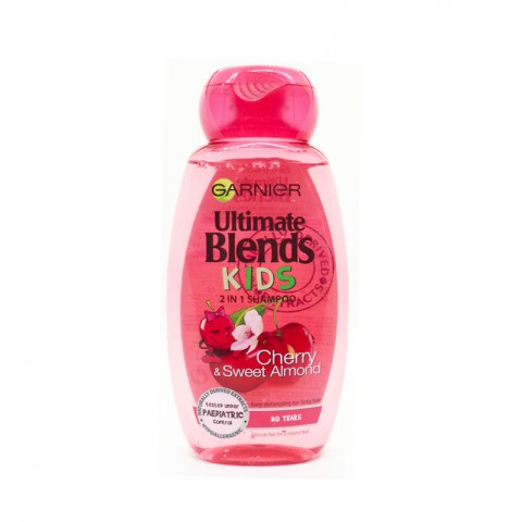 Garnier Ultimate Blends kids 2 In 1 Shampoo 250ml -Cherry & Sweet Almond