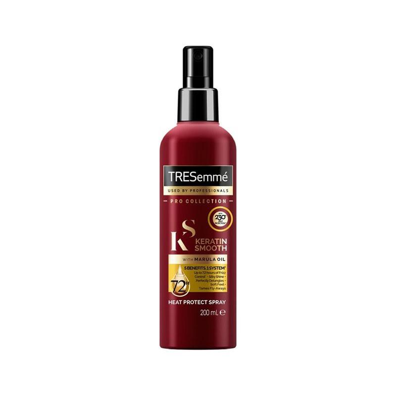 Tresemme Keratin Smooth Heat Protect Spray With Marula Oil 200ml