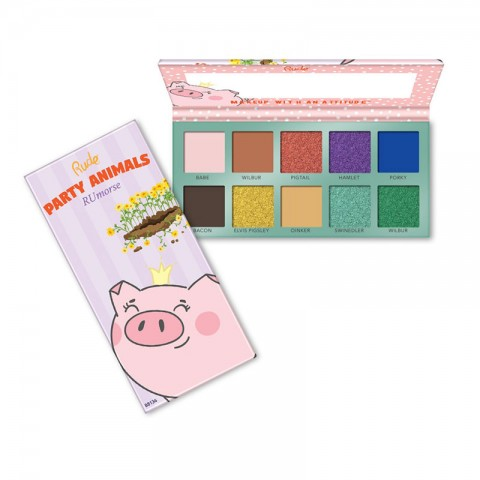 Rude Party Animal 10 Eyeshadow Palette - RUmors
