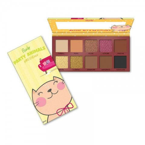 Rude Party Animal 10 Eyeshadow Palette - pRUDEnce
