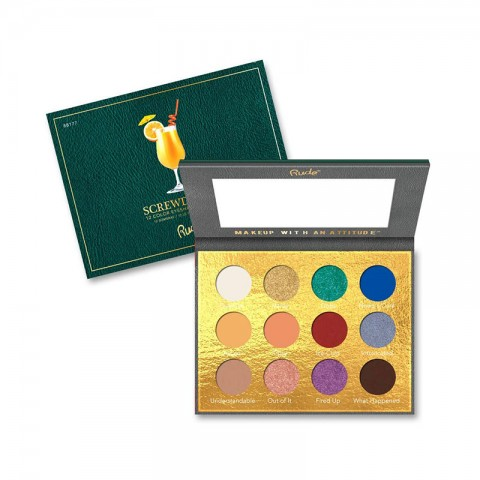 Rude Cocktail Party 12 Color Eyeshadow Palette - Screwdriver