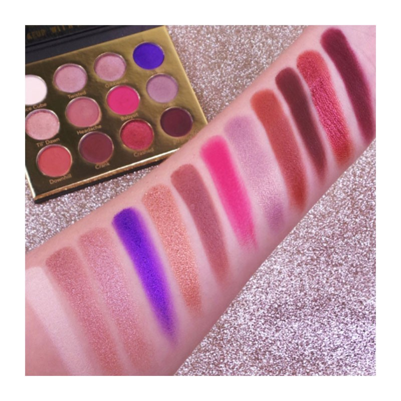 Rude Cocktail Party 12 Color Eyeshadow Palette - Dirty Mother