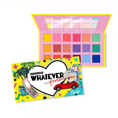 Rude Whatever Forever Beverly Hills Eyeshadow Palette
