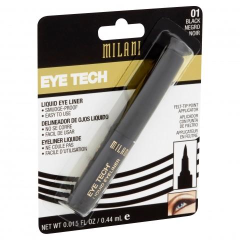 Milani Eye Tech Liquid Eyeliner - 01 Black