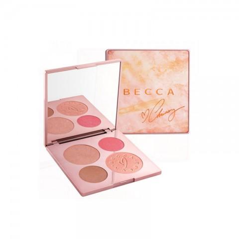 Becca X Chrissy Teigen Glow Face Palette - Chrissy