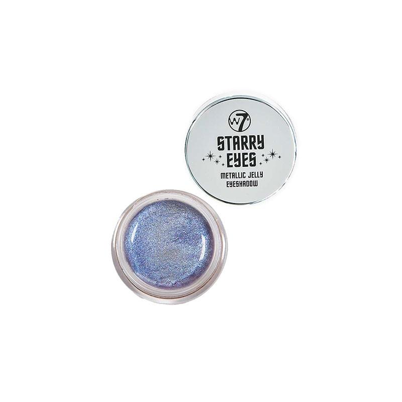 W7 Starry Eyes Metallic Jelly Eyeshadow -  Blue Moon