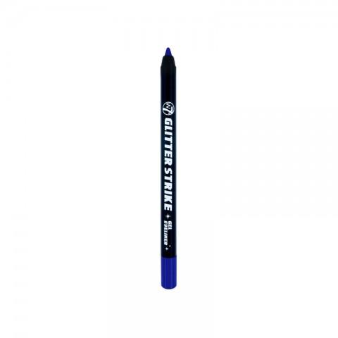 W7 Glitter Strike Gel Eyeliner - Bangin Blue