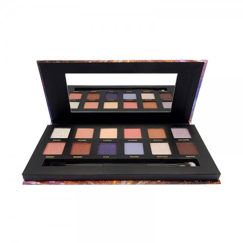 W7 Enchanted Brilliance In Bloom Pressed Pigment Palette