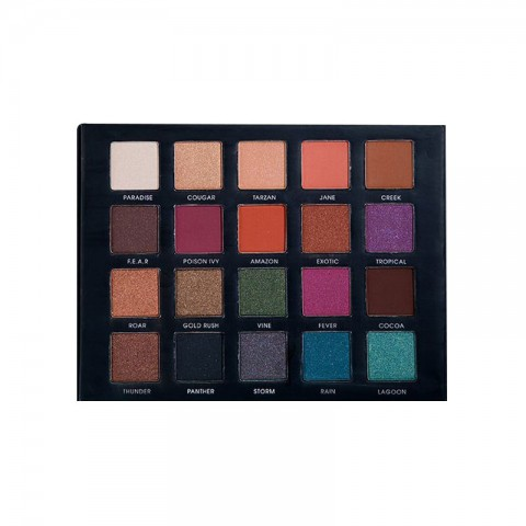 Technic Limited Edition 20 Eyeshadow Palette - Be Fearless