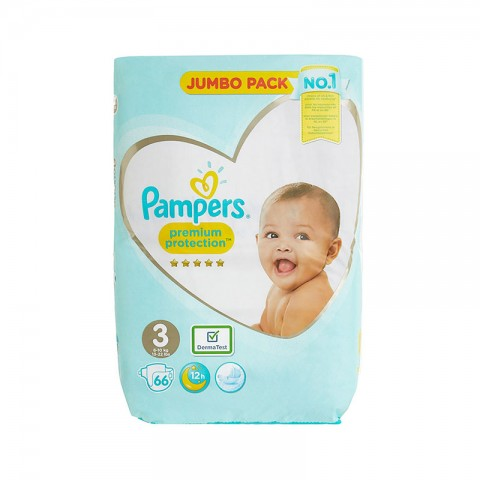 Pampers Baby-Dry Up to 12h Belt Nappy 3 (6-10 kg ) 66 Nappies