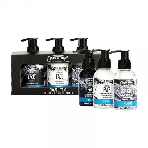 Technic Man'Stuff  Travel Trio Toiletry Gift Set (91051)