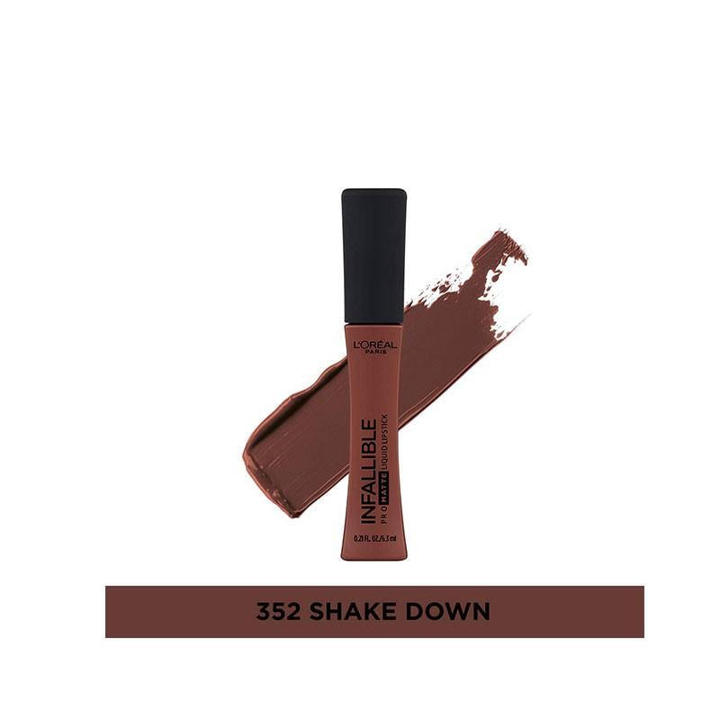 L'oreal Infallible Pro Matte Liquid Lipstick 6.3ml - 352 Shake Down