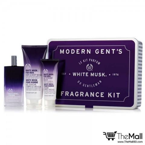 The Body Shop Modern Gent's White Musk For Men Fragrance Kit