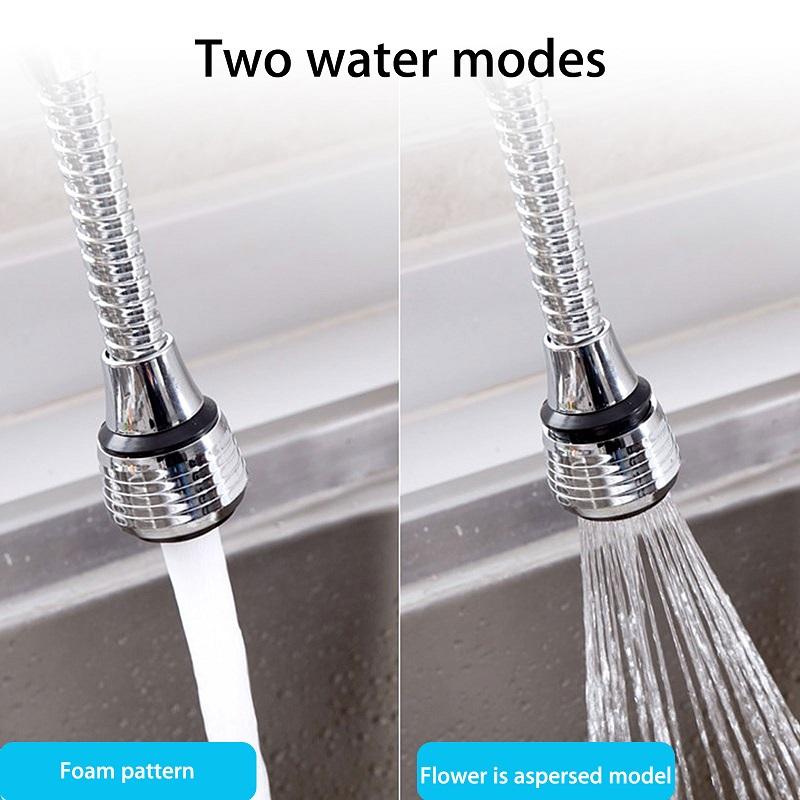 360° Universal Water Saving Flexible Kitchen Swivel Tap Head Extender (1001090)