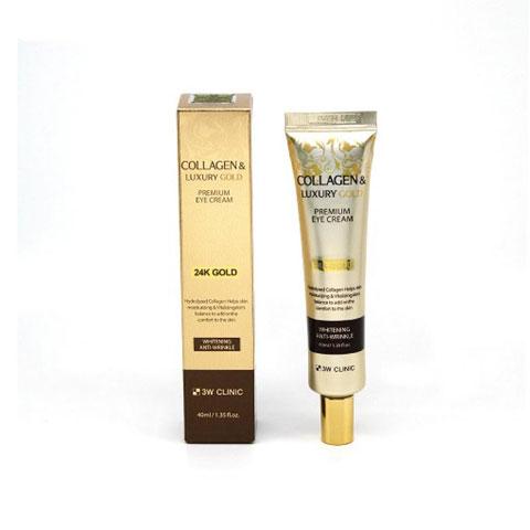 3W Clinic Collagen & Luxury Gold Premium Eye Cream 40ml