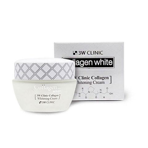 3W Clinic Collagen Whitening Cream 60ml