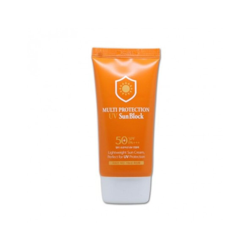 3w Clinic Multi Protection UV Sun Block 70ml - Spf 50+ Pa+++