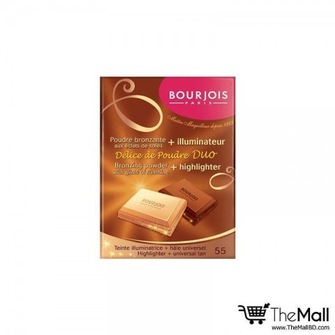 Bourjois Delice De Poudre Duo Bronzing Powder & Highlighter