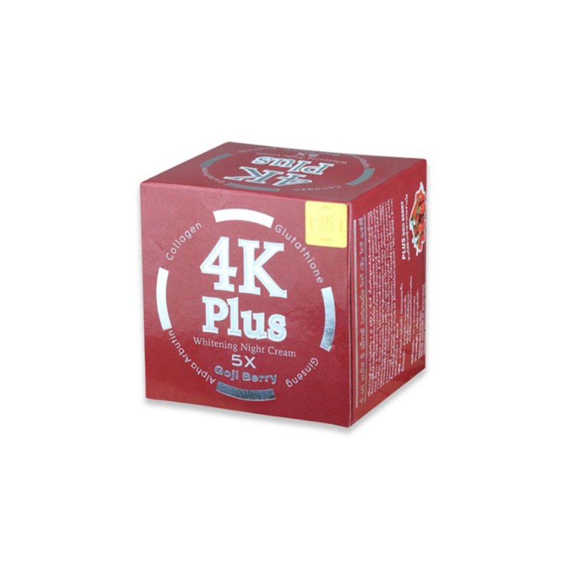 4K Plus Goji Berry Whitening Night Cream 20g