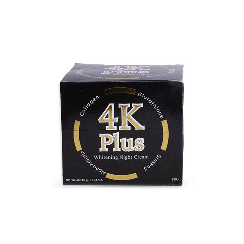 4K Plus Whitening Night Cream 15g