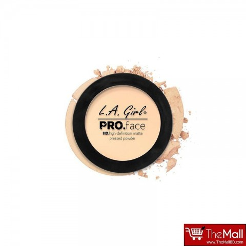 L.A. Girl Pro Face Matte Pressed Powder 7g - GPP601 Fair