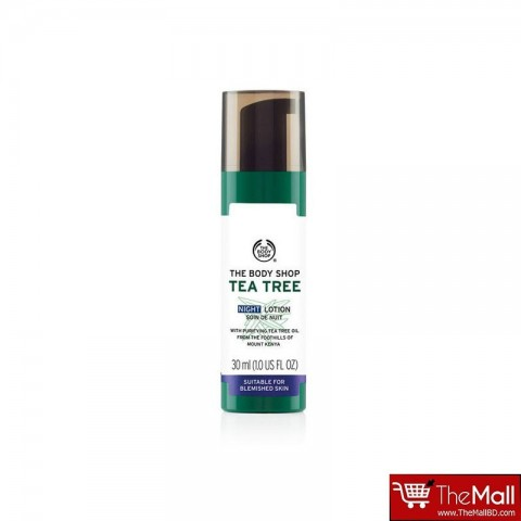 The Body Shop Tea Tree Night Lotion 30ml