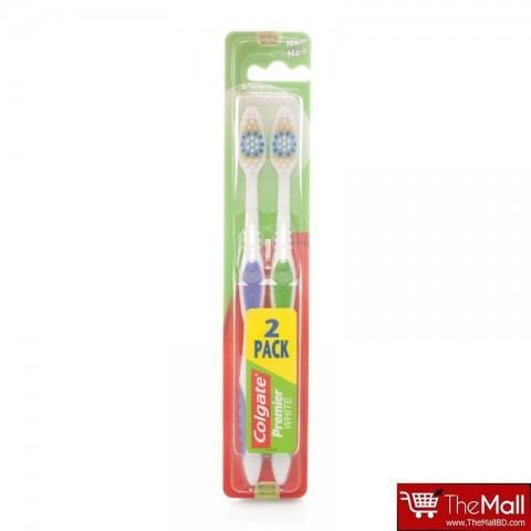 Colgate Toothbrush Premier White Twin Pack