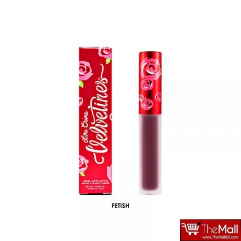 Lime Crime Velvetines Matte Lipstick 2.6ml - Fetish