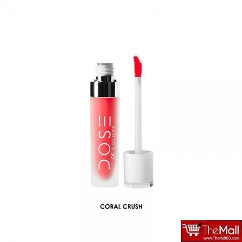 Dose Of Colors Liquid Matte Lipstick 4.5g - Coral Crush
