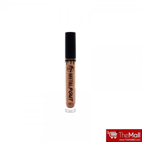 W7 Metal Pout Matte Lip Gloss 3ml - Heavy Metal