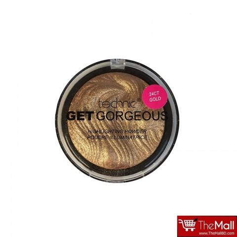 Technic Get Gorgeous Highlighting Powder 12g - 24CT Gold