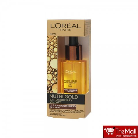 L'Oreal Nutri Gold Extraordinary Facial Oil for Dry Skin 30ml