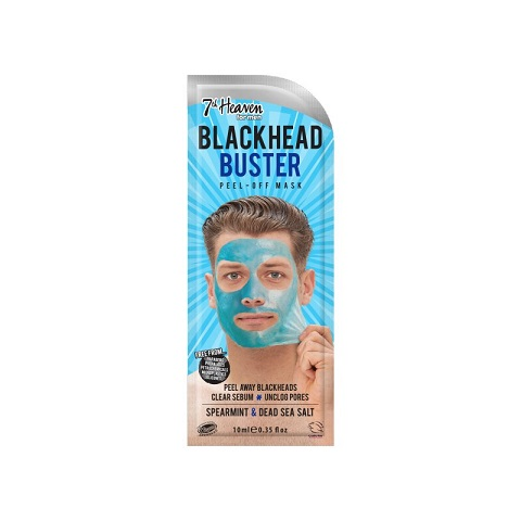 7th Heaven Blackhead Buster Peel - Off Face Mask For Men 10ml