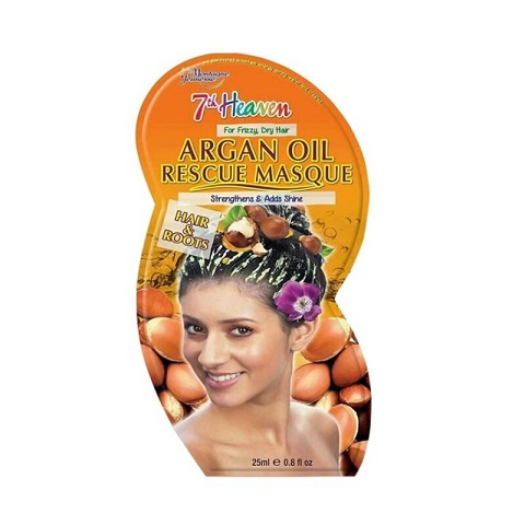 7th Heaven Montagne Jeunesse Argan Oil Rescue Hair & Roots Masque 25ml